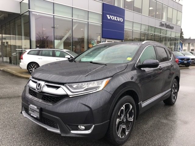 Pre-Owned 2018 Honda CR-V Touring No Accident Claim One Owner!
