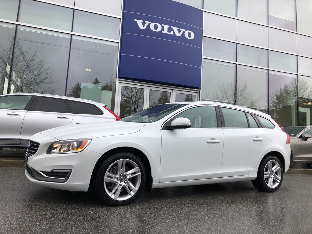 Pre-Owned 2015 Volvo V60 T5 AWD Premier Plus
