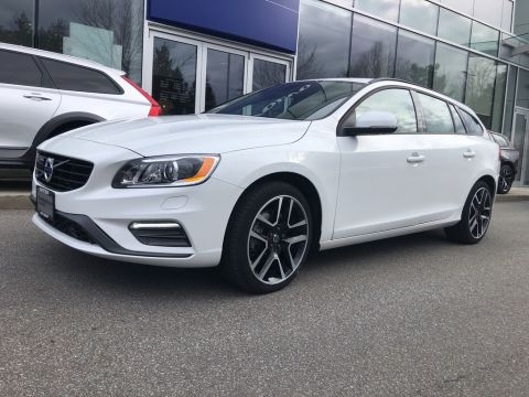 New 2018 Volvo V60 T5 AWD Dynamic 2.9% FINANCING